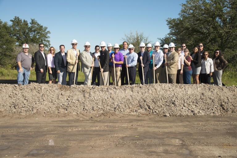 SpringHill Suites Groundbreaking in Land O' Lakes, FL