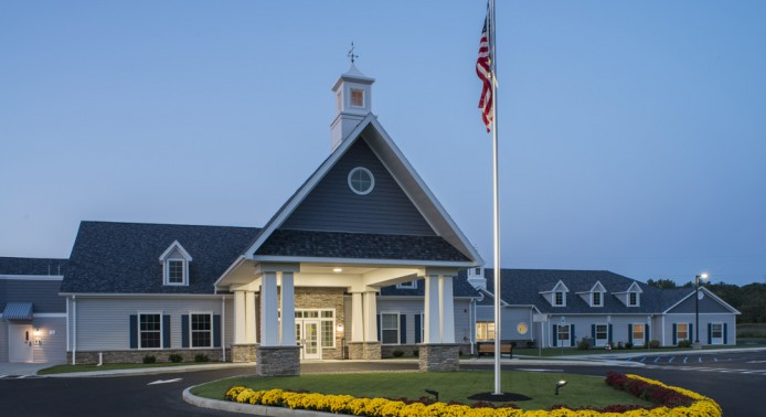 Exterior Shot of Peregrine Senior Living at Colonie