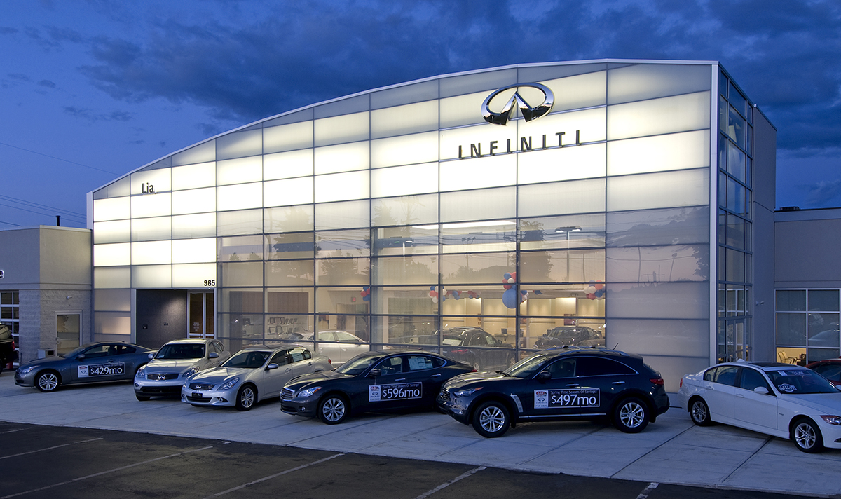 Infiniti Dealership Ny >> BBL Construction – Auto Dealerships