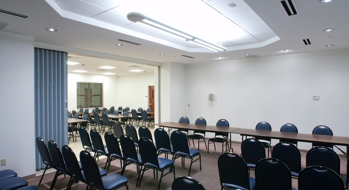 Room with Tables and Seating