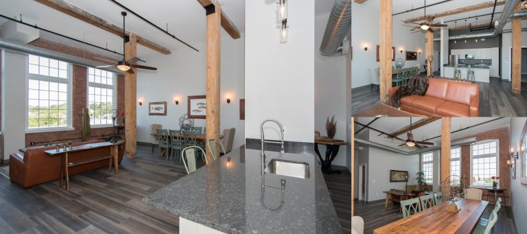 Interior Shots of Oak Knitting Mill Apartments
