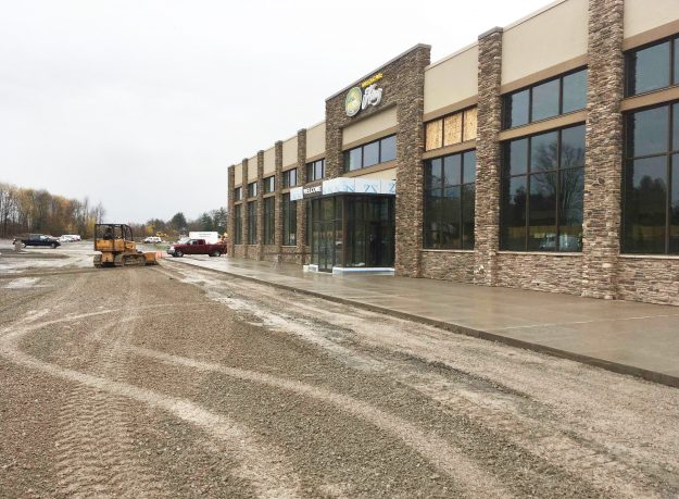 Sun Chevy Cicero >> Exterior Of Sun Auto Warehouse Bbl Construction Services